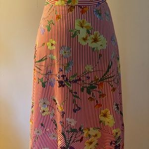 Authentic Calvin Klein Plus S. Floral Skirt